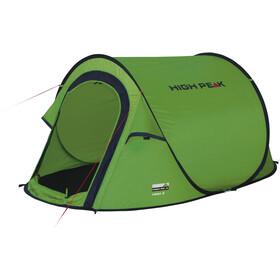 High Peak Vision 2 Telt, grøn